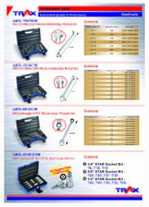 New Wrench Sets [ARX-7507DM][ARX-1514CM][ARX-0012GM][ARX-432012TB]